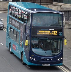 Durham (Andrew Stopford) Tags: nk61ebg vdl db300 wright 2dl eclipse arriva durham