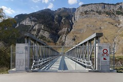 Chur - Forbidden Bridge (Kecko) Tags: 2017 kecko swiss switzerland schweiz suisse svizzera graubünden graubuenden gr chur rossboden sand schiessplatz waffenplatz militaer militär armee army military bridge brücke mabey delta rhine river rhein rheinbrücke europe rheintalbild swissphoto geotagged geo:lat=46853290 geo:lon=9494920