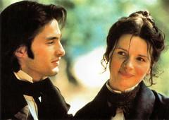 Juliette Binoche and Olivier Martinez in Le hussard sur le toit (1995)