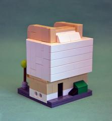 Mini-Modular Art Deco Theatre - Back (IamKritch) Tags: lego art deco microscale minimodular