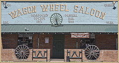 Wagon Wheel Saloon (Runemaker) Tags: wagonwheelsaloon patagonia arizona cowboy bar saloon door windows facade western wildwest west southwest building architecture