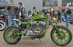 .. if John Deere made motorcycles... (Harleynik Rides Again.) Tags: johndeere motorcycles hd harleydavidson sportster green itsnoteasybeinggreen guildfordhd nikondf harleynikridesagain