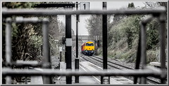 Platform Clutter (Terry 47401) Tags: 20311 20314 class20 20096 20107 7x10 fenny compton derby litchurch lane london ynderground sstock wilnecote rain station train railway