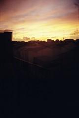 (statoingravitto) Tags: sunset sky fire lomo lomography dianamini 35mm film analog