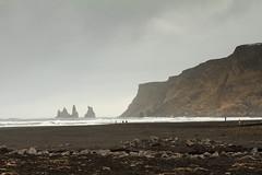 The Beach At Vík (Numinosity (Gary J Wood)) Tags: iceland southshoretour vík