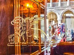Inside and Out (Izzy's Curiosity Cabinet in Venice Mood) Tags: venise venezia venice italie gran café chioggia place saint marc piazza san marco