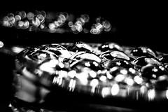 06 Glass Tumblers (jeanettefellows) Tags: clarke hotel waukesha wisconsin glass tumbler blackandwhite lowkey bokeh