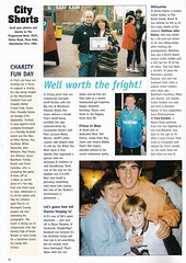 Manchester City vs Derby County - 1998 - Page 10 (The Sky Strikers) Tags: manchester city derby county worthington cup road to wembley maine official matchday magazine one pound eighty