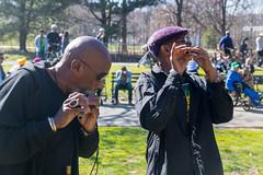2 Flute Players (EbenezerJFYP) Tags: a prospect manhattan musician city sunny lake flute pose new circle drummers nyc sun scared tree run way newyorkcity dog baby park ebenezer music york crying
