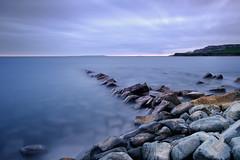Clavell Calm (burrills) Tags: jurassiccoast longexposure bw landscape kimmeridgebay polarisingfilter clavellpier water leefilters calmness sea littlestopper coast dorset rocks