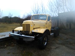 ZIL (ЗиЛ) 157 (geri.jokub) Tags: zil зил russian soviet ussr truck 6x6 wheels lithuania lietuva sunkvežimis