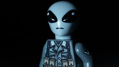 Lego Nazi Alien version 2 (Force Movies Productions) Tags: alien nazi lego toy minfig minifig minifigs minfigco minifigure bricks brickfilm science fiction scifi war wwii world wars ii photograpgh photo picture humor ayy lmao space pose dark cool conflict photograph photoshop nationalist