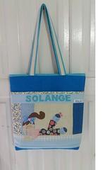 Bolsa personalizada (Cleide Patch e Afins) Tags: necessaire bolsa bolsapersonalizada lata reciclada puxa saco capadebombona bombona agua cozinha enfeite páscoa coelho nome cupcake