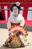 Maiko (byzanceblue) Tags: kyoto maiko geisha geiko kagai miyagawacho japan japanese woman girl female beauty cute beautiful ふく朋 宮川町 京都 姫三社 kimono gion