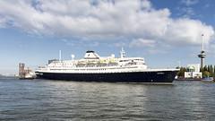 Astoria (R. Engelsman) Tags: astoria passengers ship vessel cruiseship travel holiday rotterdam thenetherlands nl imo 5383304 netherlands liner arrival inbound 010