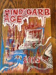 mind garbage (ARTtwentyseventeen) Tags: oil marker brush cardboard luan metal gnar shit fuck cars weed pizza money phones beautiful mysterious tits artist graffiti recycled found assemblage collage mixed media acrylic rustolelum krylon enamels consumerism waste america hip hop worldstar bling ice booty lean activis rust interior food god exterior weathered gold letters lettering mural sign painted