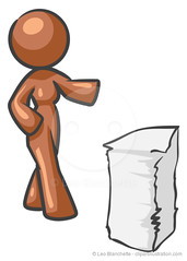 Design mascot Woman Papers (clipartillustration) Tags: brown white abstract man records color cute illustration work paper person design office shiny image desk character file stack mascot business glossy busy human pile faceless concept supplies documentation administration job information organization vector isolated stacked documents humanoid stationary admin organize paperwork contracts workload overwork