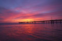 venice sunset (sjg310) Tags: ocean venice sunset seascape beach nature clouds landscape la pier losangeles pacific
