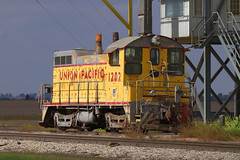 UP 1202 (BSTPWRAIL) Tags: up illinois pacific union coop 1202 switcher cooperative cruger sw10 grainland