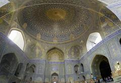 Mezquita del Shah o Imm Isfahn Irn 09 (Rafael Gomez - http://micamara.es) Tags: en del iran o or persia mosque mezquita   isfahan shah imam irn      isfahn imm