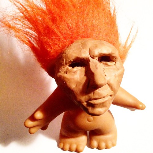 #goodluck #troll #doll #toy #troywandzel by troy wandzel, on Flickr