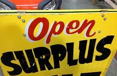 A Surplus of Open