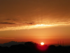 sunriseset4 (ThrghMyEyes) Tags: red arizona orange beautiful set sunrise bright sunny sunrises mesa earlymorningsun azskies