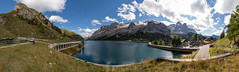 DSC04092_pano (AndiP66) Tags: fedaiasee lago fedaia marmolada marmoleda belluno panorama aussicht view südtirol alto adige southtyrol herbst autumn northernitaly italy italien norditalien mountains berge alps alpen andreaspeters sony alpha 77ii 77m2 77markii a77ii slta77ii ilca77m2 dolomiten dolomites stausee september