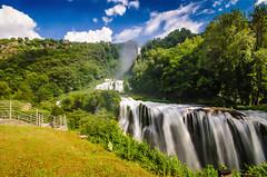 marmore falls (photograffiando) Tags: color water clouds landscape nikon 1020mm theunforgettablepictures wonderfulword d7000 cloudsstormssunsetssunrises nikonclubit