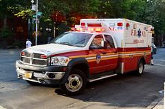 FDNY Ambulance 015 (Emergency_Vehicles) Tags: new york fire ambulance dodge fdny department 015