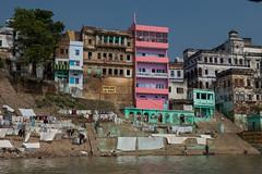 (Jordy B) Tags: india man color colors boat asia couleurs streetphotography varanasi asie bateau couleur ganga homme inde ghat northindia gange uttarpradesh travelphotography indedunord bnares  gang northemindia  gnga