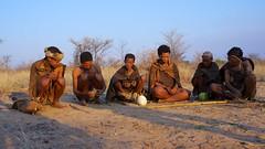 Group of San Bushmen (fvfavo) Tags: botswana sanbushmen