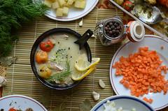 Fish soup (M. Georgiev) Tags: food fish dinner lunch soup lemon carrot onion fishsoup