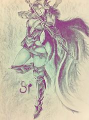 #traxex #warcraft #artwork #draw #sketchbook #blackpencil (bsarpi) Tags: artwork sketchbook warcraft draw blackpencil traxex