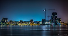 Cardiff Night scape (technodean2000) Tags: city uk wales night bay nikon south cardiff scape hdr lighroom d5200 infinitexposure