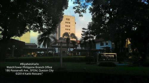 Watch Tower Society Manila Office 186 Roosevelt Avenue, San Francisco del Monte, Quezon City