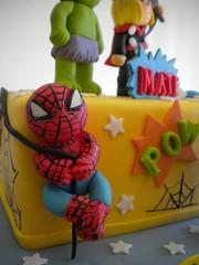 Spiderman (Pastelera Bakery Shop) Tags: palmademallorca pasteles islasbaleares pastelesdecorados pastelesdecoradospalmademallorca