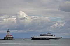 IMG_3623 (Vishal Singh Chauhan Photography) Tags: cruise light house chicago clouds canon boat ship sail vishal singh 6d chauhan 2014