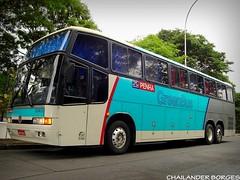 Empresa Nossa Senhora da Penha 33403 (cborges.k113 (So Paulo/Brasil)) Tags: bus buses 5 terminal v brazilian nibus antigos clssico tiet gerao greenbus rodovirio
