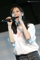 Michelle (EXpersia) Tags: check michelle gingham event handshake jkt48