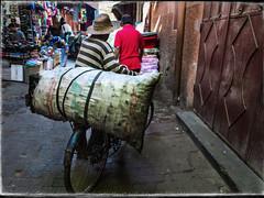 medina-souk1 (dristis-mudra) Tags: transport maroc medina marrakeche