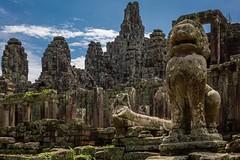 Guardian of the Temple (Ruzdi Ekenheim) Tags: travel ancient asia cambodia angkorwat unesco siem reap siemreap angkor wat kambodja awesone 500px travelgeo ifttt krongsiemreap