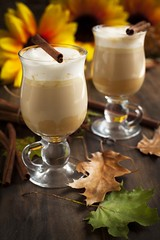 Pumpkin spice latte with whipped cream and caramel (Anjelagr) Tags: life thanksgiving autumn food orange brown holiday fall halloween glass coffee fruit dark festive pumpkin table dessert lunch wooden milk leaf still healthy natural drink sweet cinnamon background spice beverage cream tasty nobody vegetable fresh cocktail caramel meal squash vegetarian shake latte product butternut creamy mousse whipped nutrition refreshment ingredient