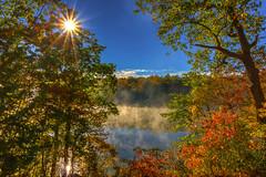 October sun on the lake 16671-3 PL (P.E.T. shots) Tags:
