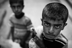 Never give up! (Giulio Magnifico) Tags: children iraq isis kurdistan jihad yazidi zakho nikond800e sigma35mmf14dghsm da3sh