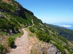 Der Weg zum Pico Ruivo (omma59) Tags: trekking olympus pico ruivo madeira wandern ep3