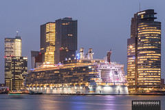 Oasis of the Seas Rotterdam (ByBBR) Tags: cruise rotterdam oasis cruiseship seas oasisoftheseas