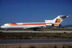 Iberia B727-256 EC-DCE BCN 19/07/1998 (jordi757) Tags: barcelona nikon airplanes bcn kodachrome boeing f90x iberia kodachrome64 avions 727 elprat b727 b727200 i lebl ecdce