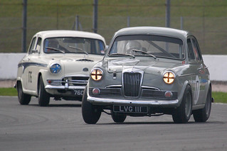 1959 Riley 1.5 (LVG 111) 1800cc - HRDC Touring Greats - Donington Park