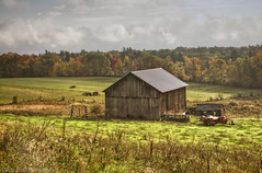 Deerfield Country Side (madre11) Tags: fall landscape barns newengland newhampshire farmland deerfield